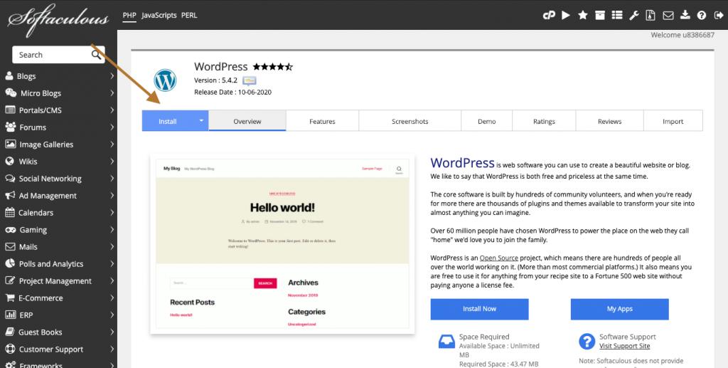Cara Membuat Website WordPress